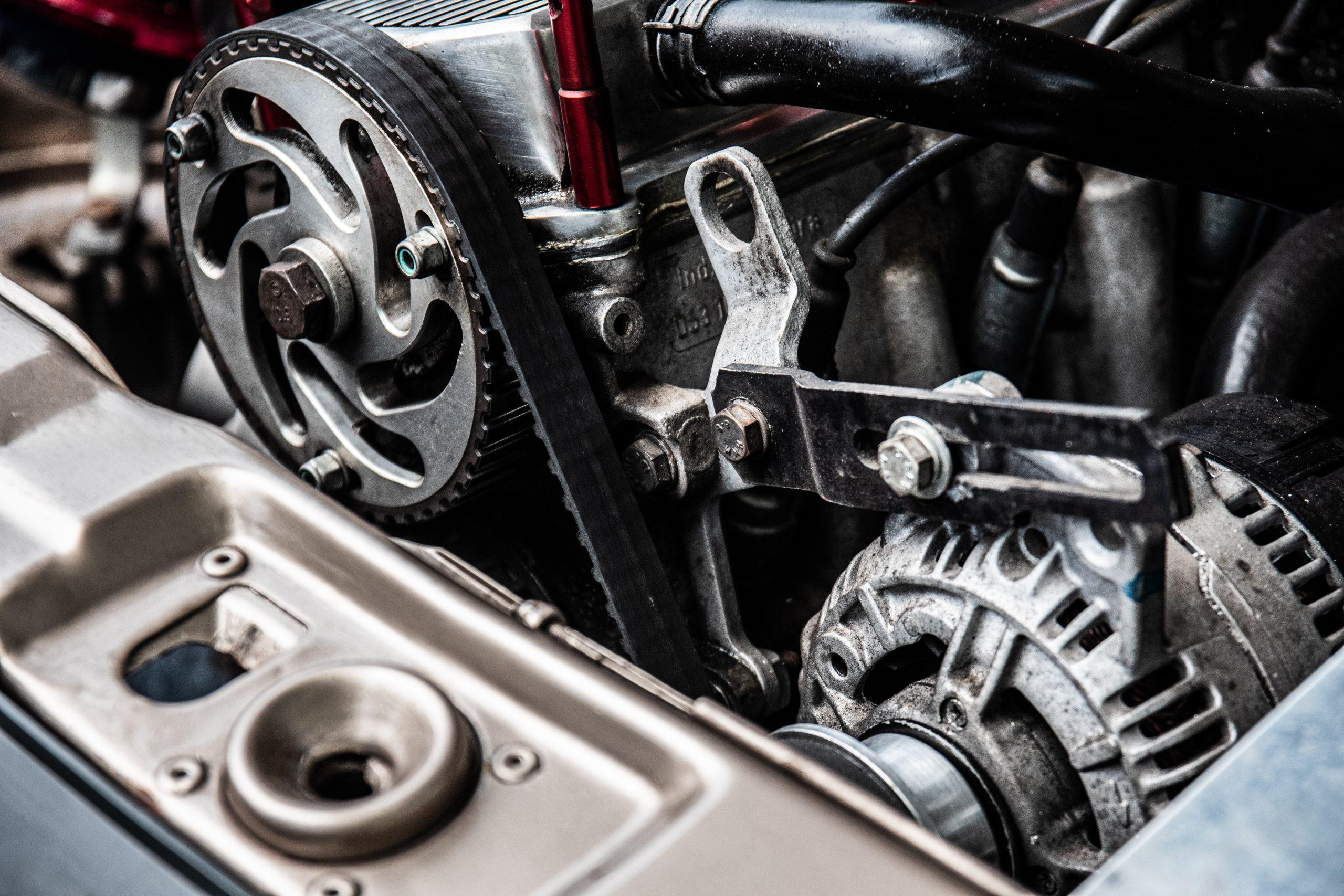 En motor som har ny turbo