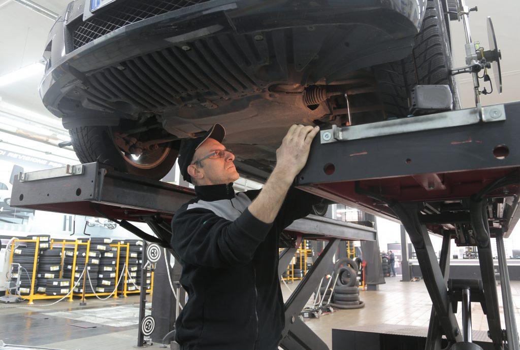 montering av ny turbo, montering av turbo,